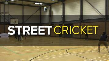 street cricket: haseeb hameed helps promote different form of the game