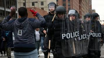 department of justice aims to halt baltimore policing overhaul