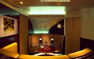 ranked: these are best airplane bars in first class