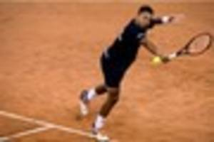 tennis: rising star jay clarke helps out gb davis cup team