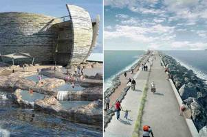 £1.3 billion swansea bay tidal lagoon 'to be rubber-stamped in june'