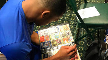 pokémon fever hits the cubs clubhouse