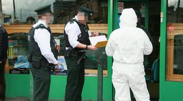 man in court charged with attempted murder after two people stabbed in belfast pharmacy robbery bid