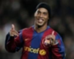 'i could have played for man utd' - ronaldinho has no regrets at favouring barcelona over premier league teams