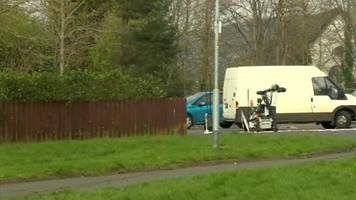 controlled explosions carried out on car in twinbrook alert