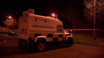 twinbrook security alert continuing after controlled explosions