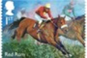 red rum and 7 other legendary racehorse stamps launched by royal...