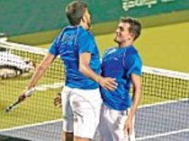 india take one step closer to the 2018 tennis world cup