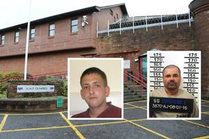 would-be jailbreaker saws through prison bars and makes rope from bedsheets but blows escape after scrap with cellmate