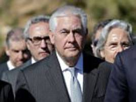 putin snubs tillerson over syria as wh hints more strikes