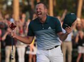 sergio garcia's masters win sees tiger woods lead tributes