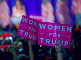 only 1 in 5 of trump's twitter followers are women