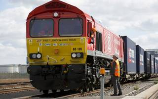 first uk to china freight train set off from london gateway today