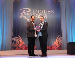 gvk mial adjudged 'highly commended airport for marketing' in the asia pacific region at the routes asia marketing awards 2017