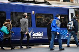 rail services between ayr and glasgow disrupted after person hit by train between kilwinning and johnstone