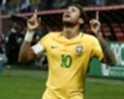 watch: neymar can match messi and lead brazil