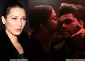 heartbroken bella hadid's fed up with the weeknd and selena gomez's highly-publicized romance