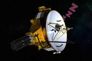 nasa's new horizons probe is taking a long nap as it prepares to meet up with a distant icy space rock