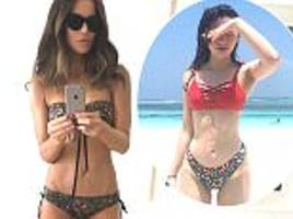 kate beckinsale shows off physique in sizzling selfie