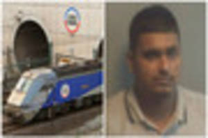 leicester driver caught at channel tunnel trying to smuggle...