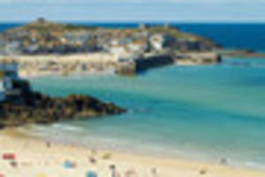 st ives bay view in cornwall voted one of best in britain