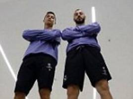 real madrid's ronaldo and benzema 'ready' for bayern game