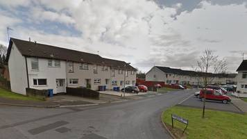 brick lands in baby cot in antrim 'hate crime attack'