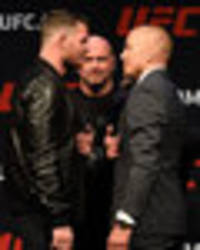 ufc president dana white gives update on michael bisping vs. georges st-pierre