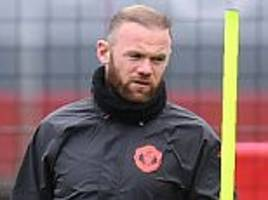 wayne rooney out of manchester united tie in europa league