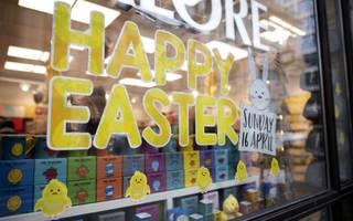 brits stay put for easter splurge