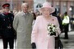 where can i see the the queen when she comes to leicester and...