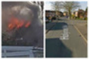 Two men charged with assaulting firefighters while they were...