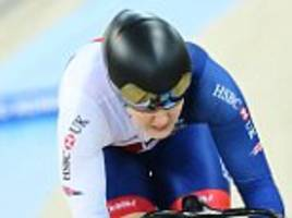 katy marchant makes early exit from sprint competition