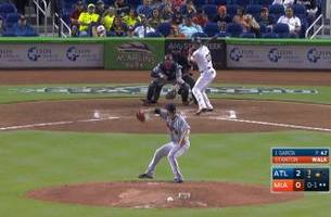 highlights: marlins' stanton hits two out of the park