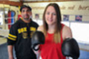 leicester boxer paige murney is so proud to fly the flag for...