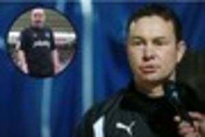 derek adams relishing the rivalry between plymouth argyle and...