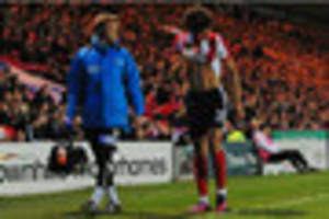 positive news for lincoln city striker lee angol following...