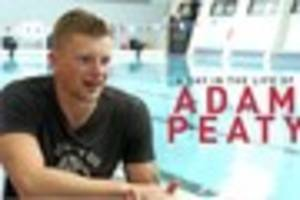 watch: a day in the life of olympic champion adam peaty