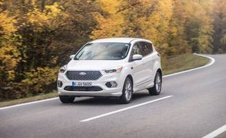 2017 ford kuga vignale first drive: diesel escape, plus euro luxury