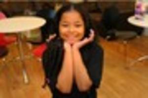 Orchard Park schoolgirl Tyla, 9, has 14 inches cut off her hair...