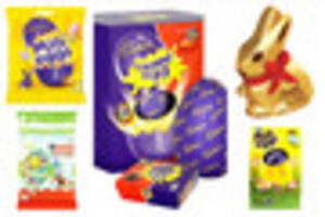the number of calories in your favourite easter eggs might just...