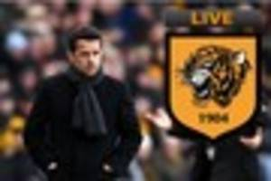 LIVE Hull City news and rumours as Marco Silva has options and we...