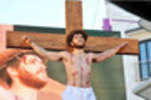 the easter story will be performed in leicester city centre today