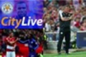 Live Leicester City news: Shakespeare press conference ahead of...