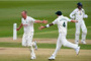James Pattinson the pick of Nottinghamshire's bowlers on day one...