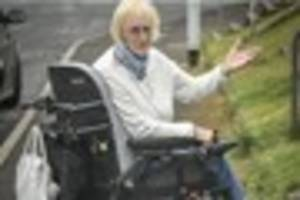 Thief snatches disabled gran's handbag from her wheelchair
