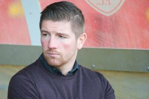 airdrieonians boss mark wilson believes they are in pole position for play-off spot