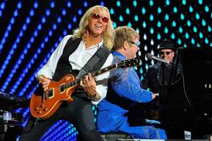 elton john's guitarist and best mate can't wait for airdrie stadium tour date