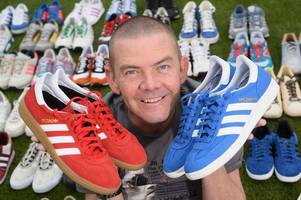 sneakerhead scot sets up firm to restore cherished trainers to their former glory