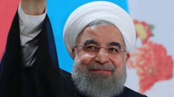 iran election: president rouhani registers to run again